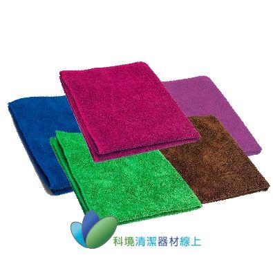 超纖細吸水擦拭布40*40-綠色