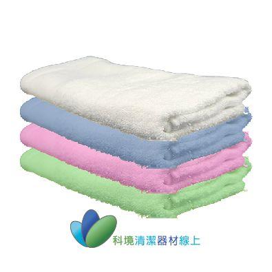 20兩素色毛巾-白色